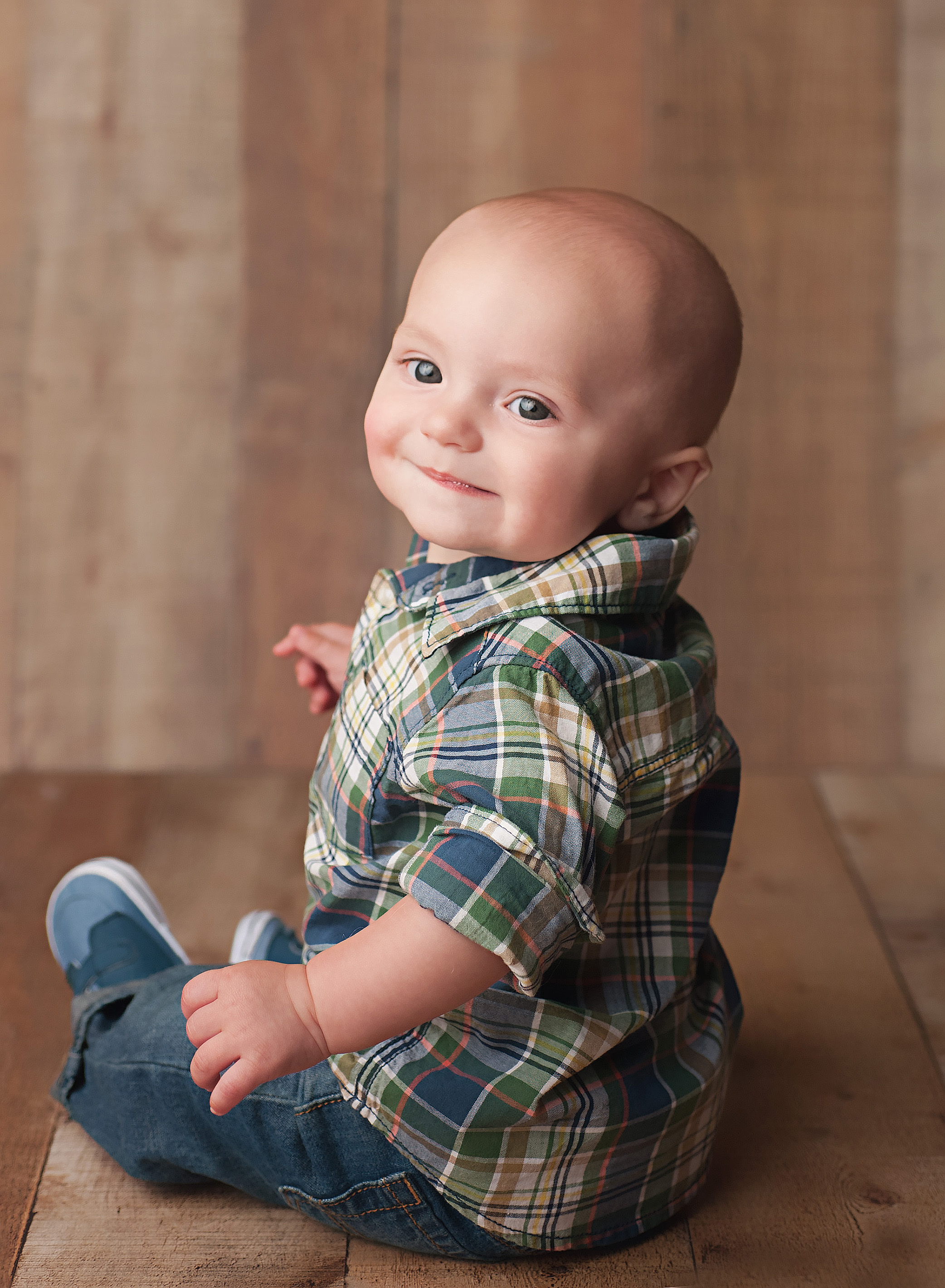6 month old baby boy