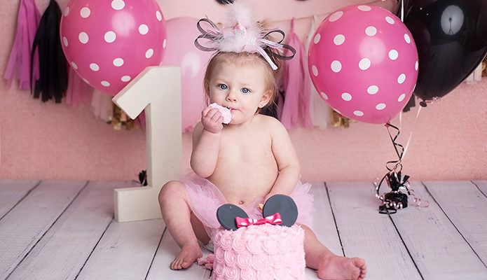 First Birthday Photographer, Buffalo NY, WNY, Milania