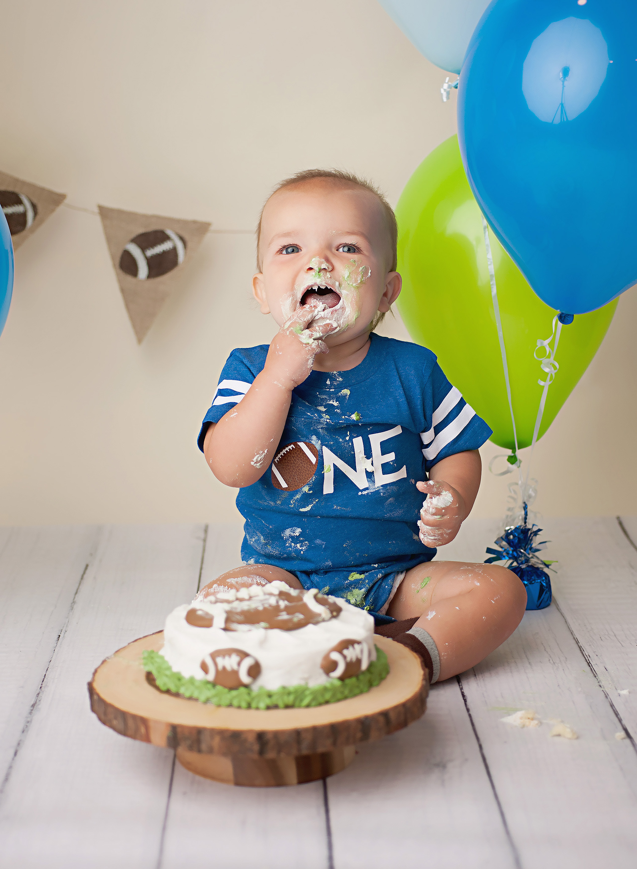 One year old photography session