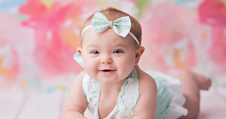 Buffalo NY, Chautauqua County 6 Month Photo Session, Ava