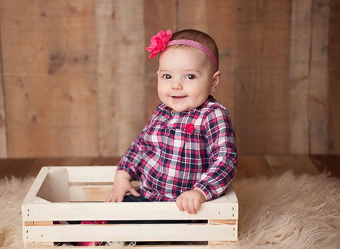 6 month old photographer